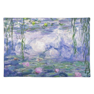 Water Lilies Painting Placemat