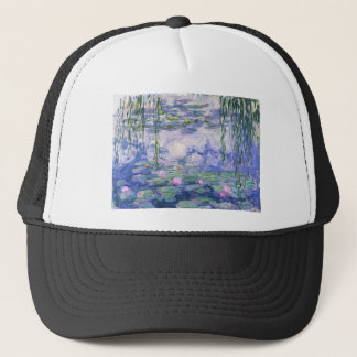 Water Lilies Painting Trucker Hat