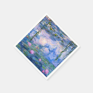 Water Lilies Paper Napkin