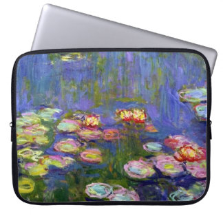 Water Lilies Scenic Garden Pond Claude Monet Laptop Computer Sleeve