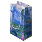 Water Lilies Small Gift Bag