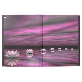 "Water lilies steps the horizon - 3D render iPad Pro 12.9"" Case"