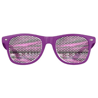 Water lilies steps the horizon - 3D render Retro Sunglasses