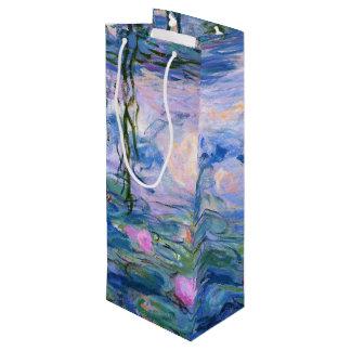 Water Lilies Wine Gift Bag
