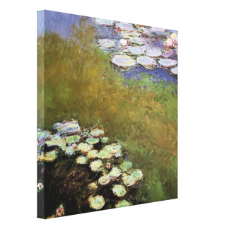 Water-Lillies, 1914-17 Canvas Print