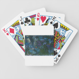 Water Lillies Bicycle Playing Cards