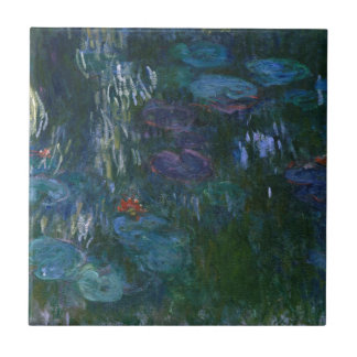 Water Lillies Ceramic Tile