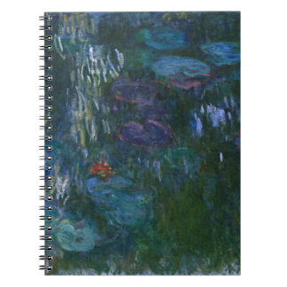 Water Lillies Notebook