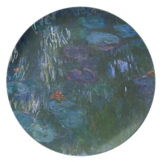 Water Lillies Plate