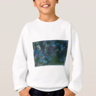 Water Lillies Sweatshirt