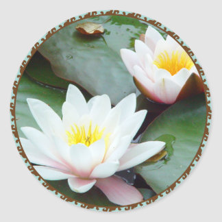 Water Lilly sticker