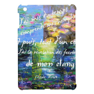 Water lily and Monet fascination. iPad Mini Cover