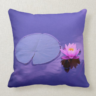 Water Lily at Dawn Pillow