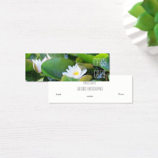 Water Lily Business Card