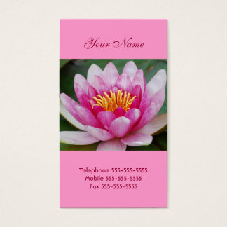 Water Lily  Business Cards