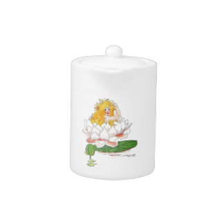 Water Lily Cute Flower Child Floral Fairy Girl
