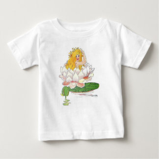 Water Lily Cute Flower Child Floral Fairy Girl Baby T-Shirt