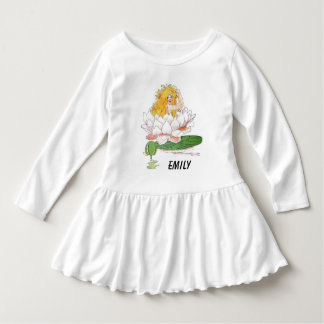Water Lily Cute Flower Child Floral Fairy Girl Dress