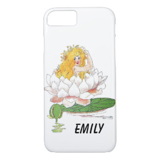 Water Lily Cute Flower Child Floral Fairy Girl iPhone 8/7 Case