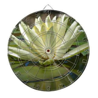 Water lily dartboard