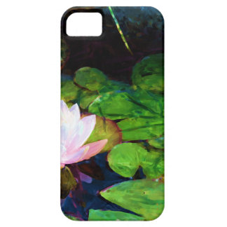 Water lily floating in a pond iPhone 5 cover