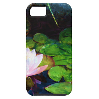 Water lily floating in a pond iPhone 5 covers