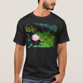 Water lily floating in a pond T-Shirt
