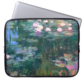 Water Lily Flowers Electronics Bag Computer Sleeves