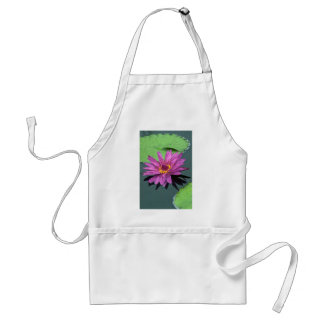 Water lily in full bloom apron