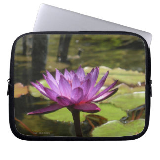 Water Lily Laptop Bag Computer Sleeves
