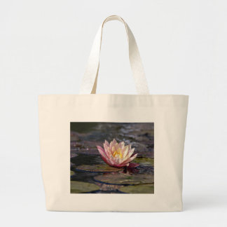 Water Lily Large Tote Bag