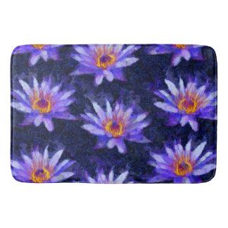 Water Lily Modern Bath Mat