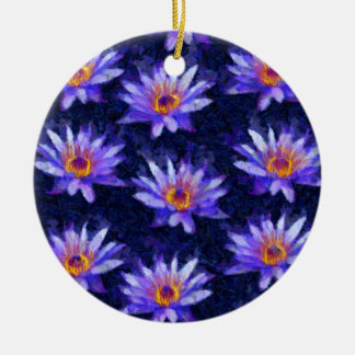 Water Lily Modern Ceramic Ornament