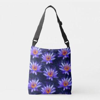 Water Lily Modern Crossbody Bag
