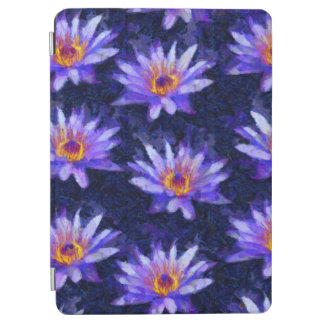Water Lily Modern iPad Air Cover