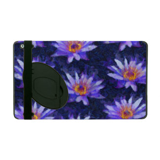 Water Lily Modern iPad Case