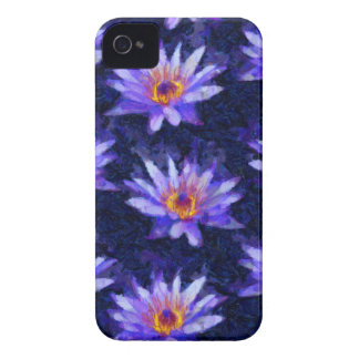Water Lily Modern iPhone 4 Case