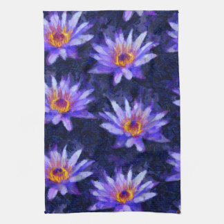 Water Lily Modern Kitchen Towel