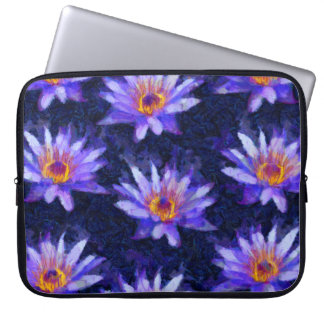 Water Lily Modern Laptop Sleeve