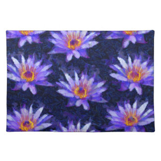 Water Lily Modern Placemat