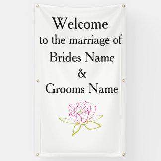 Water Lily Modern Simple Elegant WeddingIdeas Banner