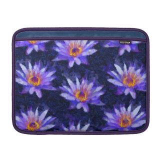 Water Lily Modern Sleeve For MacBook Air