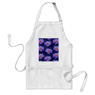 Water Lily Modern Standard Apron
