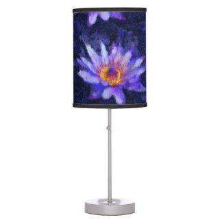 Water Lily Modern Table Lamp