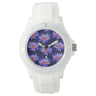 Water Lily Modern Watch