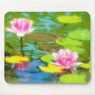 Water Lily Mouspad Mouse Pad