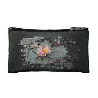 Water Lily - of Lotus flower, sea-rose in the pond Makeup Bag