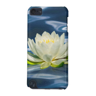Water Lily on Blue Water iPod Touch 5G Case