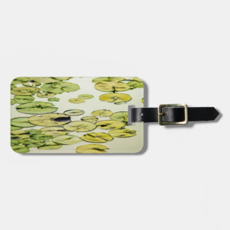 Water Lily Pads in a Pond Bag Tag