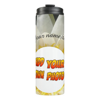 Water Lily Photo Tumbler